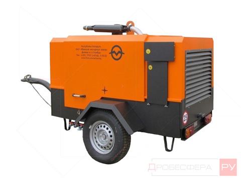 Дизельный компрессор 6000 л/мин 7 бар ММЗ-03-ПВ6/0,7-Р2А