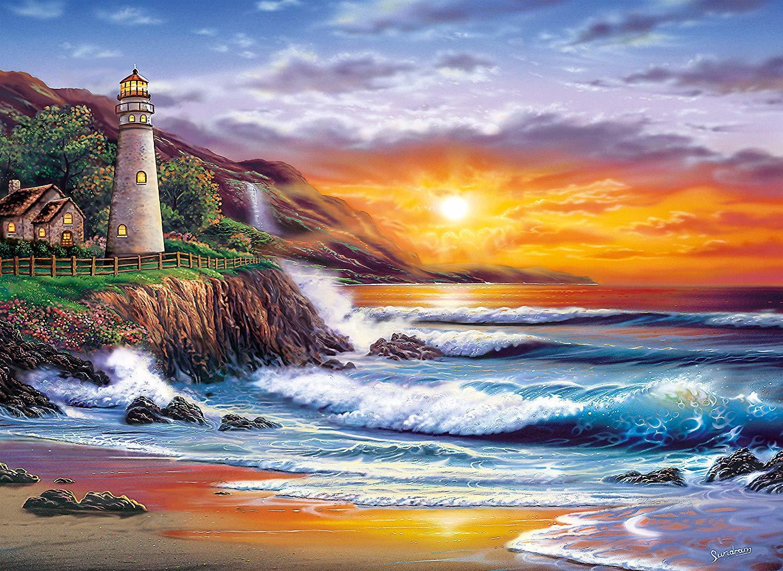 Картина раскраска по номерам 40x50 Закат на пляже– купить ...