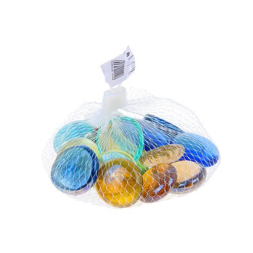 стеклянные камешки для игр в домашней песочнице