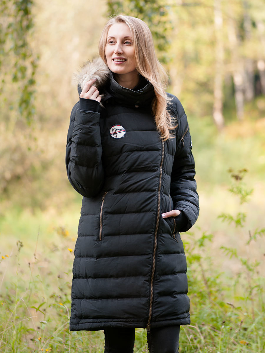 Bergans пуховик Bodø Down Lady Coat Black
