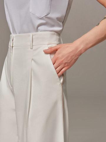 Женские белые брюки Eleventy - фото 3