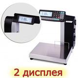 Весы с печатью этикеток MK-15.2-R2P10-1 (с подмотчиком)