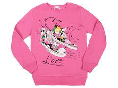 3016-14 джемпер детский, розовый