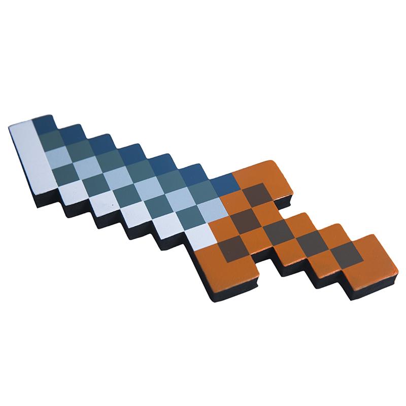 Пиксельный кинжал Майнкрафт (Minecraft) 25 см