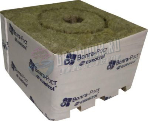 Минераловатные кубики 100 x 100 x 65 (Euroizol)
