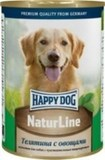 Happy Dog NatureLine Консервы для собак Телятина с овощами 20x400 г. (71441)