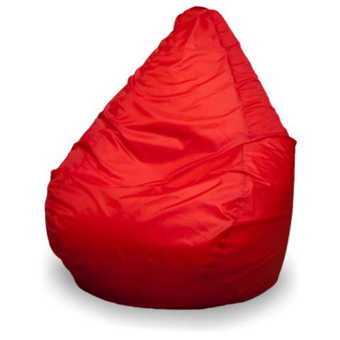 Бескаркасное кресло «Груша» XL, Красный