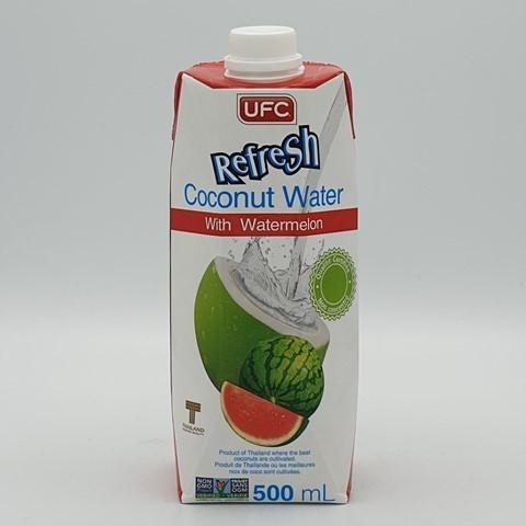 Кокосовая вода без сахара с арбузным соком UFC