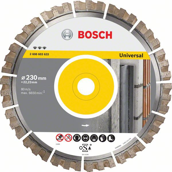 Алмазный диск Best for Universal 300-25,4 Bosch 2608603635