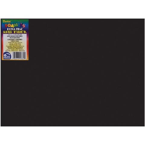 Фоамиран Foam Sheet 23х30,5 см /6mm -Black-1шт.