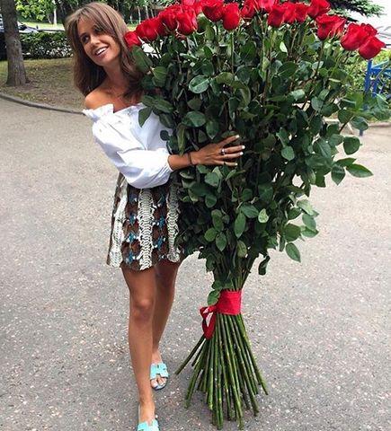 51 роза 160 см #1531