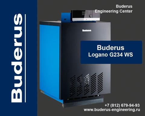 Buderus Logano G234-55WS Газовый Напольный Чугунный Атмосферный котел (RU-TOP)