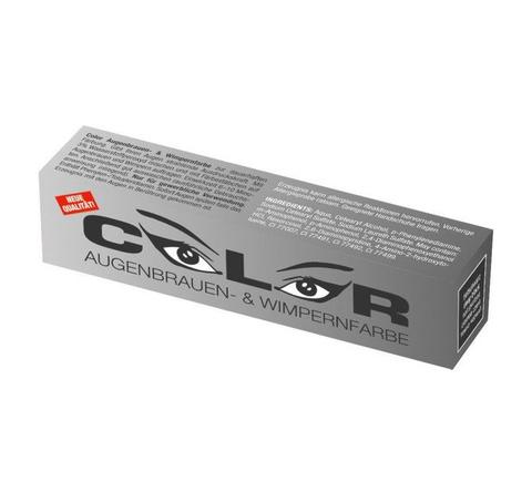 Краска для бровей и ресниц Color (черная) 15мл