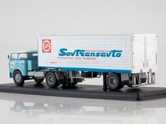 Skoda LIAZ 706 MTTN + semitrailer Alka N12CH SovTransAvto 1:43 Start Scale Models (SSM)