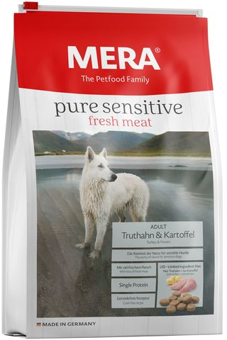 Mera Pure Sensitive fresh meat  Adult Truthahn&Kartoffel
