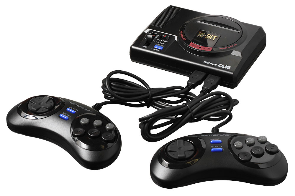 Корпус с геймпадами Classic USB Controller-M