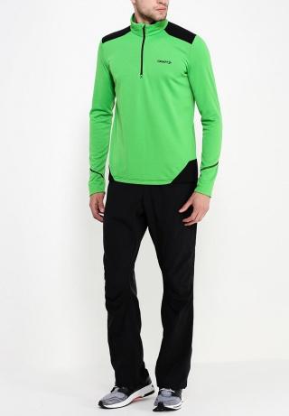 Мужская беговая толстовка Craft Shift Free (1902256-2606) зеленая фото