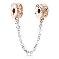 PANDORA Rose Insignia Safety Chain