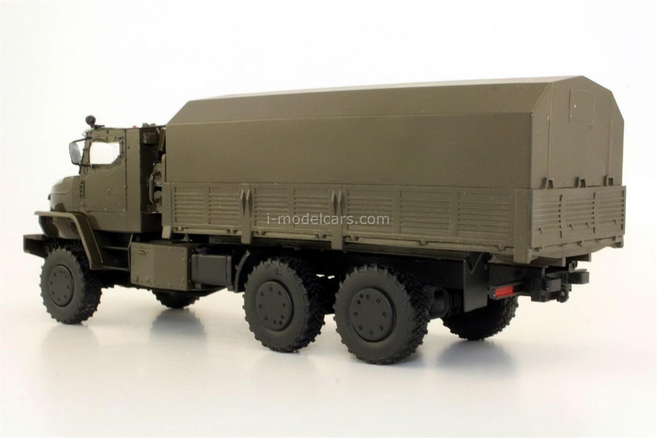 Ural-63704-0010 Tornado-U armored army truck handmade 1:43