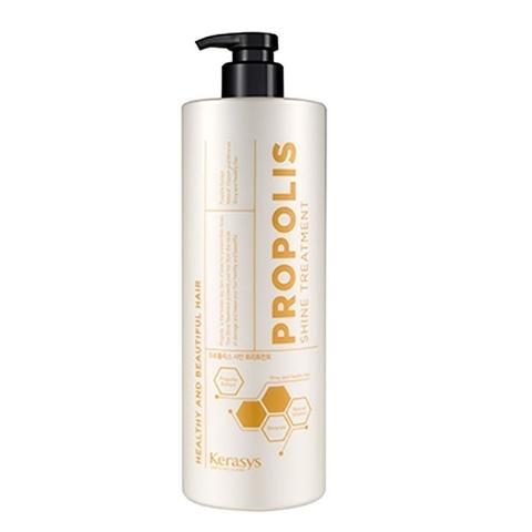 Маска для восстановления поврежденных волос Жизненная сила с прополисом KeraSys Propolis Extract Natural Vitamin and Minerals Shiny and Healthy Hair Shine Treatment 1000мл