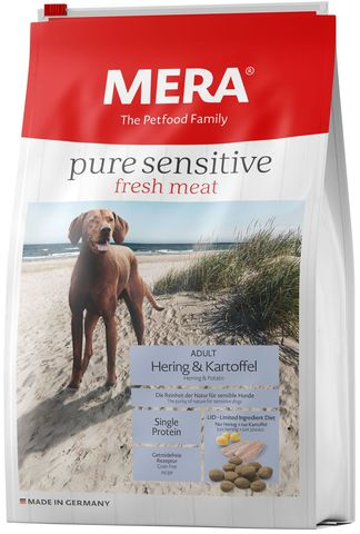Mera Рure Sensitive  fresh meat Adult Hering&Kartoffel