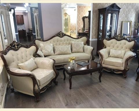 Набор мягкой мебели  ДЖОКОНДА караваджо глянец