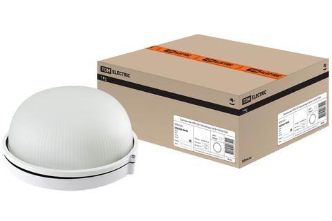 Светильник НПБ1301 белый/круг 60Вт К IP54 TDM