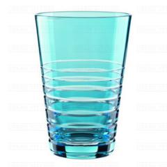 SIXTIES Rondo Aqua - Набор высоких стаканов из хрусталя, 2 штуки, 450 мл