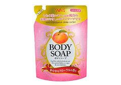 Крем-мыло с экстрактом листьев персика Body Soap, 400мл