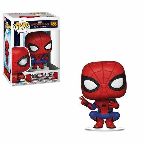 Фигурка Funko POP! Bobble: Marvel: Spider-Man: Far From Home: Spider-Man (Hero Suit) 39403
