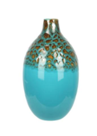 Элитная ваза декоративная Lava бирюза от Sporvil