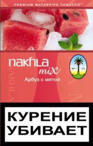 Купить табак для кальяна Nakhla Mix Арбуз с мятой в Калуге