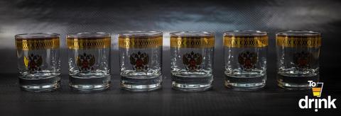 Подарочный набор из 6 стаканов для виски