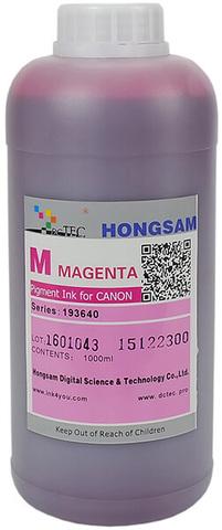 Чернила DCTec iPF6400/iPF8400 Magenta (M) 1000 мл пигмент (серия 193640 / 193540)