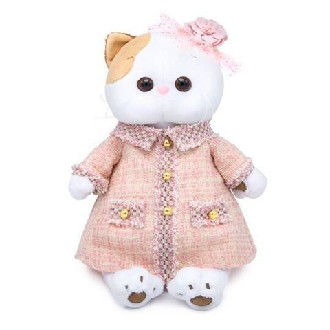 Кошечка Ли-Ли в розовом костюме LK24-028