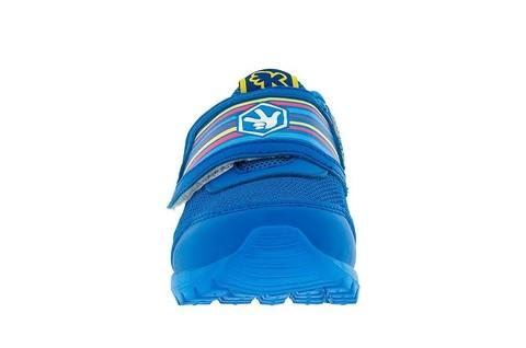 Кроссовки для мальчиков на липучках Фиксики, цвет синий. Изображение 2 из 5.