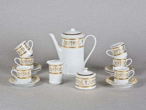 Сервиз кофейный 15 предметов чашка 0,15 л Сабина Leander
