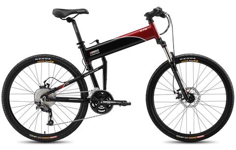 Montague SwissBike X70 (2015)черный с красным