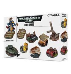 Warhammer 40,000 Hero Bases
