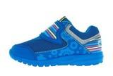 Кроссовки для мальчиков на липучках Фиксики, цвет синий. Изображение 3 из 5.