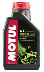 Моторное масло MOTUL 5000 4T SAE 10W40