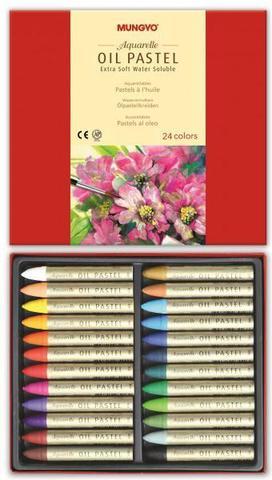 Набор масляной водорастворимой пастели 24 цвета