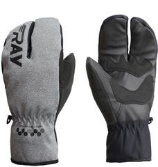 Перчатки лобстеры Ray Стиль серый