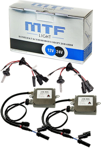 Комплект ксенона MTF Light 50W H7 (5000K)