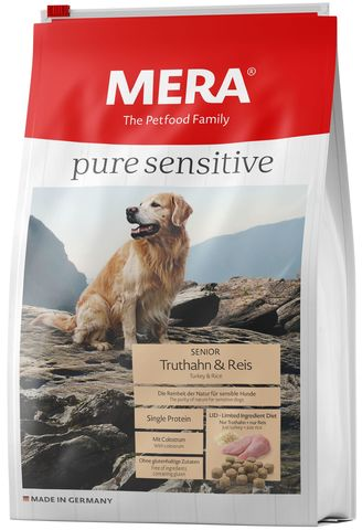 Mera Pure Sensitive  Senior Truthahn&Reis