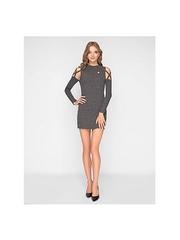 GTS012372 Платье женское. серое