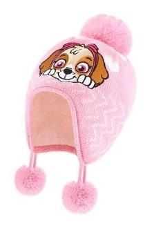 Щенки шапка детская теплая