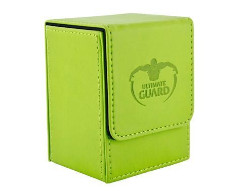 Ultimate Guard - Зеленая кожаная коробочка на 100+ карт для Коммандера