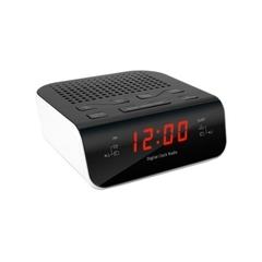 Часы с радио Texet TRC-309 white