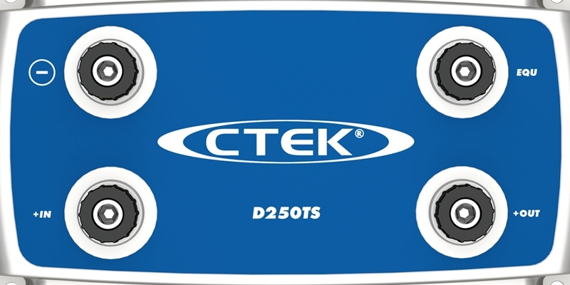 Зарядное устройство для 24В АКБ (4 этапа, 28‐200Aч) D250TS